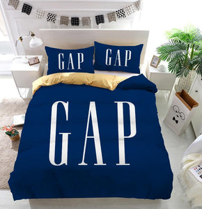 Gap Logo Custom Bedding Set (Duvet Cover & Pillowcases)