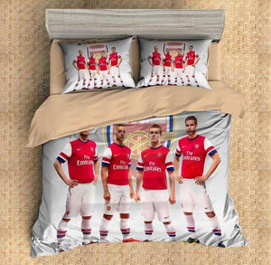 3D CUSTOMIZE ARSENAL BEDDING SET DUVET COVER
