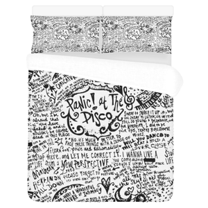 Panic! at the Disco #1 - Bedding Set (Duvet Cover & Pillowcases)
