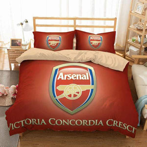 3D CUSTOMIZE ARSENAL F.C. BEDDING SET DUVET COVER