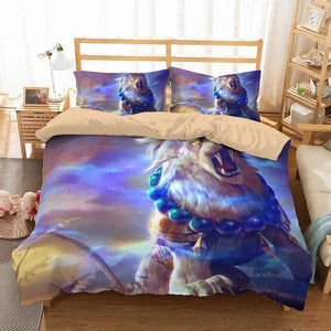 3D CUSTOMIZE COLORFUL LION BEDDING SET DUVET COVER