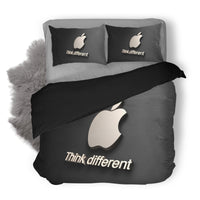 Apple Logo Custom Bedding Set Duvet Cover #5