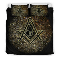 3D Customize  MASONIC   Bedding Set Duvet Cover