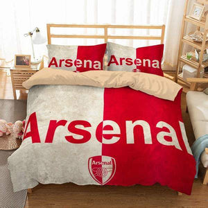 3D CUSTOMIZE ARSENAL F.C. BEDDING SET DUVET COVER #2