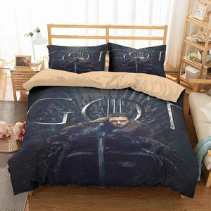 3D Customize Game of Thrones Bedding Set Duvet Cover