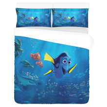 Load image into Gallery viewer, Finding Nemo #2 – Bedding Set (Duvet Cover & Pillowcases)