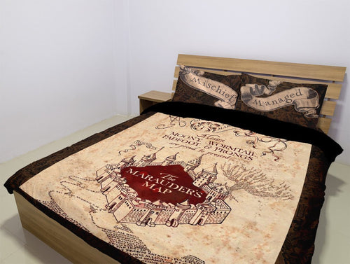 Harry Potter (3 Styles) - Bedding Set (Duvet Cover & Pillowcases)