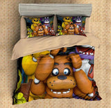CUSTOMIZE FIVE NIGHTS AT FREDDY'S 3PCS DUVET COVER