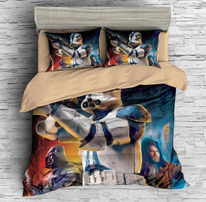 3D CUSTOMIZE STAR WARS BATTLEFRONT BEDDING SET DUVET COVER