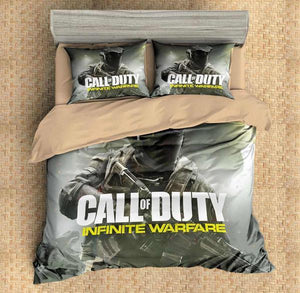 3D CUSTOMIZE CALL OF DUTY INFINITE WARFARE BEDDING SET DUVET COVER SET BEDROOM SET BEDLINEN