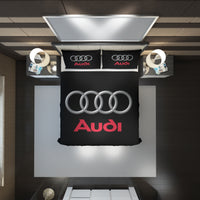 Audi Logo Custom Bedding Set #1(Duvet Cover & Pillowcases)