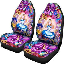 Load image into Gallery viewer, ALICE IN WONDERLAND CAR SEAT COVERS