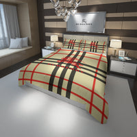 Burberry Established 1856 Custom Bedding Set Duvet Cover