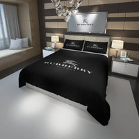 Burberry Logo Custom Bedding Set Duvet Cover