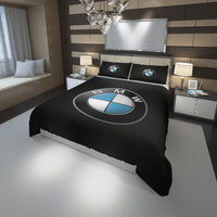 BMW Logo Custom Bedding Set #2(Duvet Cover & Pillowcases)