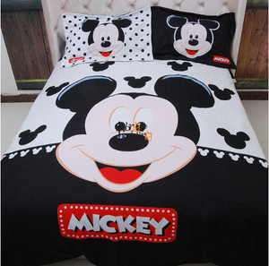 Disney - Mickey Mouse (10 Styles) Custom #1  Bedding Set (Duvet Cover & Pillowcases)