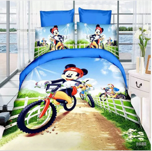 Disney - Mickey Mouse (10 Styles) Custom #2  Bedding Set (Duvet Cover & Pillowcases)