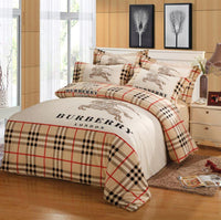 Burberry Logo #2 Custom (2 Type) Bedding Set Duvet Cover