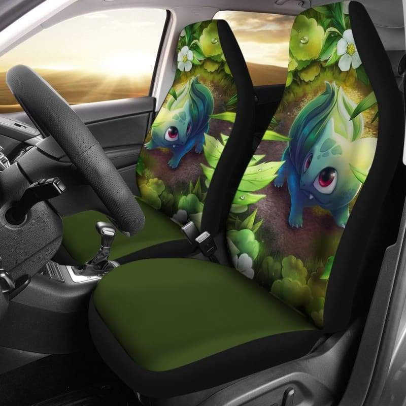 Bulbasaur Pokemon Car Seat Covers