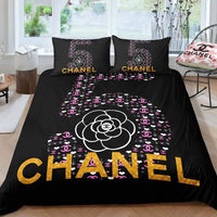 CC7 Coco Chanel Custom Bedding Set (Duvet Cover & Pillowcases)