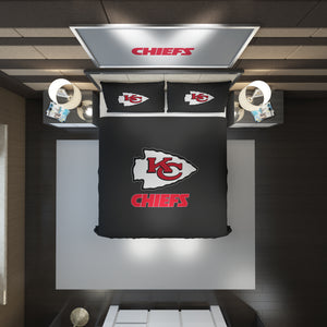 Kansas City Chiefs logo Bedding Set Duvet Cover