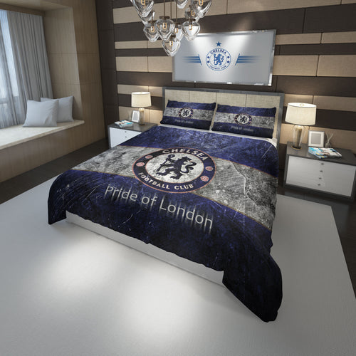 Chelsea Fc Football Club Bedding Set Duvet Cover #2
