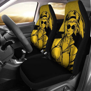 Faye Valentine Cowboy Bebop Car Seat Covers