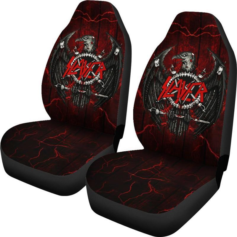 Slayer - Car Seat Covers (2pc Set)