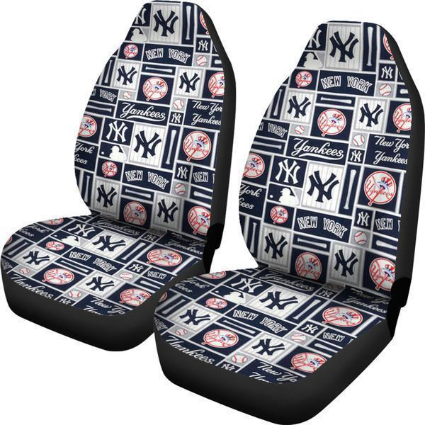 New York Yankees (2 Styles) - Car Seat Covers (2pc Set)