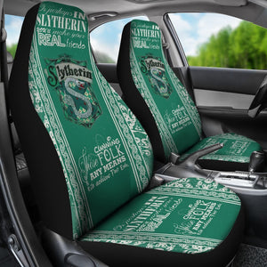 Harry Potter - Slytherin - Car Seat Covers (2pc Set)