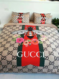 Gucci  Custom Bedding Set (Duvet Cover & Pillowcases)