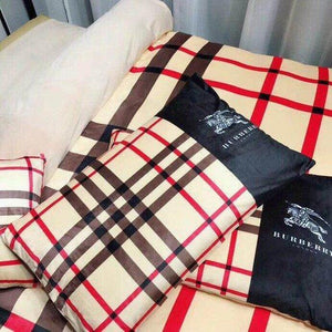 Burberry Custom Bedding Set (Duvet Cover & Pillowcases)