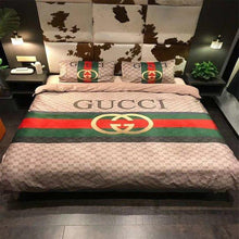 Load image into Gallery viewer, Gucci Custom Bedding Set Duvet Cover