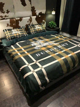 Load image into Gallery viewer, Burberry Custom Bedding Set (Duvet Cover & Pillowcases)