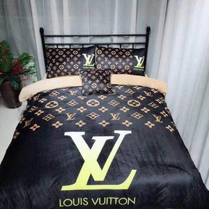 Louis Vuitton Custom Bedding Set (Duvet Cover & Pillowcases)