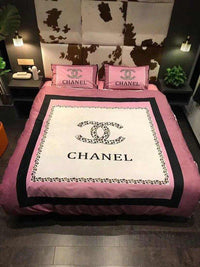 Chanel Custom Bedding Set (Duvet Cover & Pillowcases)