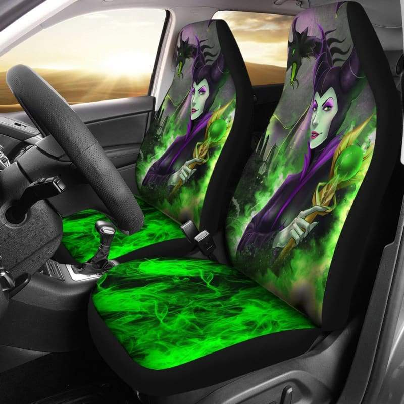 Maleficent Car Seat Covers