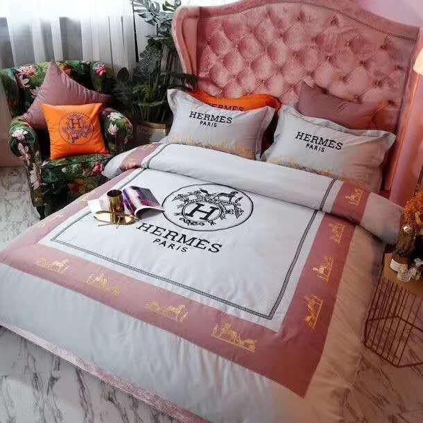 Hermes #3 Custom (4 Type) Bedding Set Duvet Cover