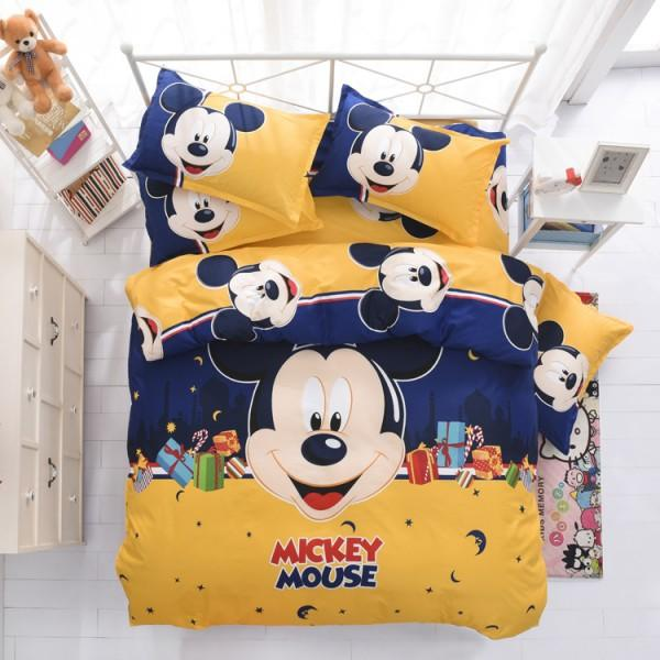 Disney Mickey Mouse Minnie Mouse Winnie - Bedding set (Duvet Cover & Pillowcases)