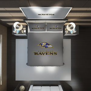 Baltimore Ravens logo Bedding Set Duvet Cover #1