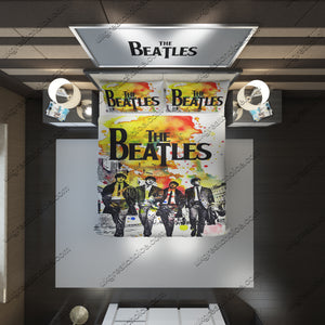 The Beatles Custom Bedding Set (Duvet Cover & Pillowcases)