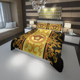 Versace La Coupe Des Dieux Logo Custom Bedding Set #2 (Duvet Cover & Pillowcases)
