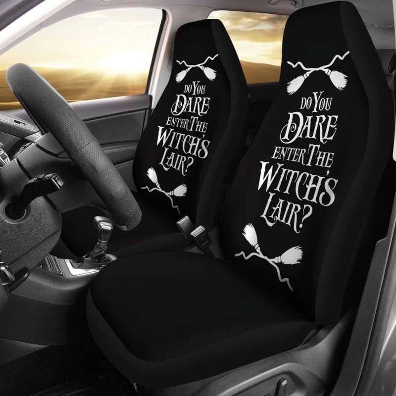 Witch Halloween Car Seat Covers