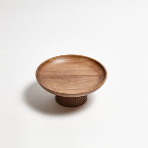 ZNT BOWL M WALNUT Rain Drops