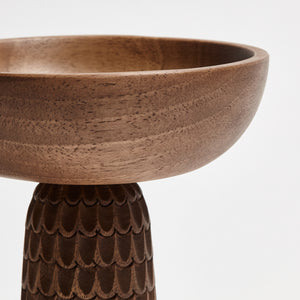 ZNT BOWL S WALNUT Rain Drops