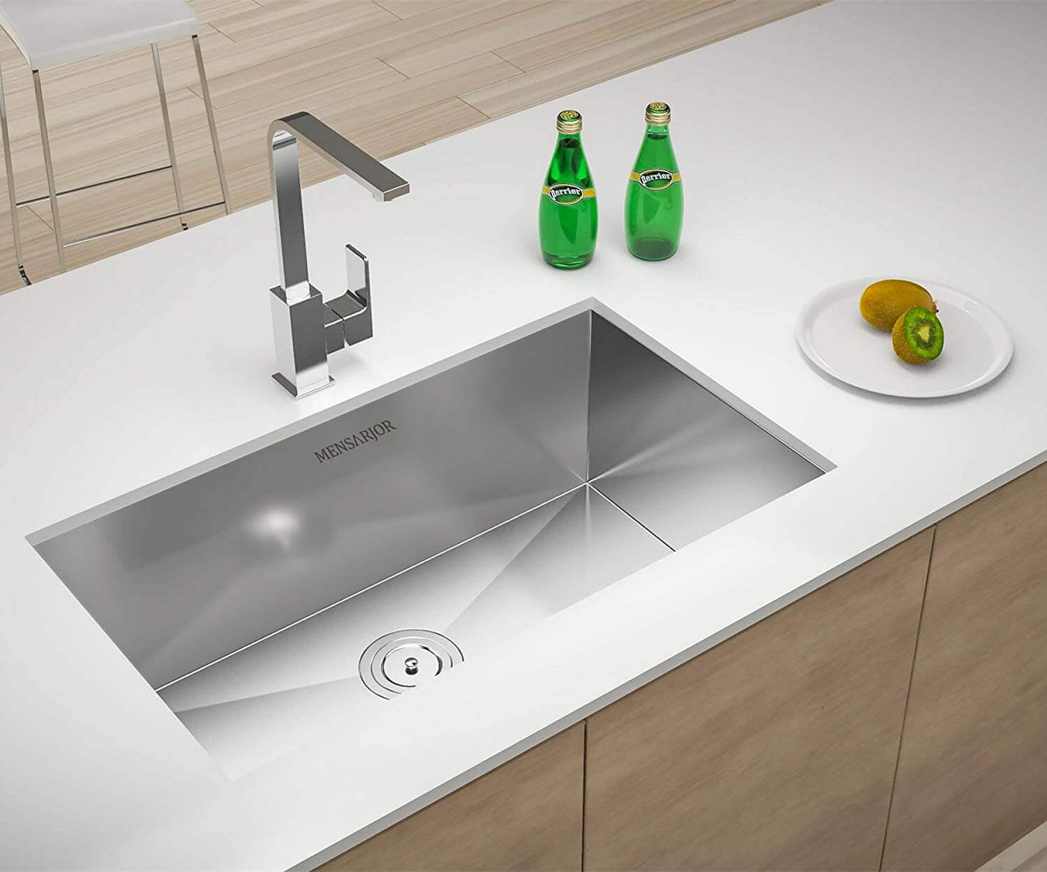 Mensarjor Undermount kitchen sink