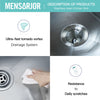 Mensarjor Kitchen sink instructions