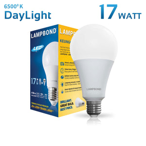 Lampbond® - Lampu LED Bohlam 17 Watt - Cool Daylight