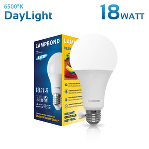 Lampbond® - Lampu LED Bohlam 18 Watt - Cool Daylight
