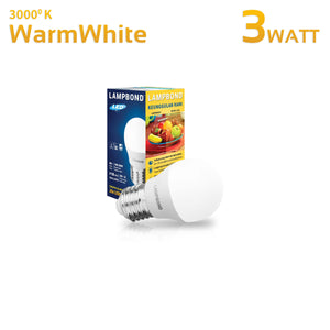 Lampbond® - Lampu LED Bohlam 3 Watt - Warm White